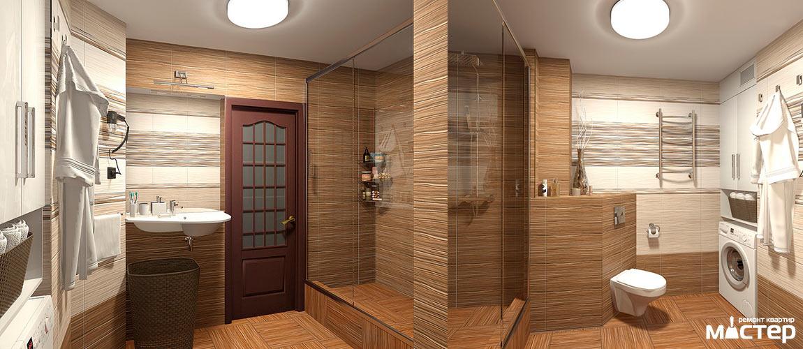 Ремонт ванной комнаты под ключ в Барнауле