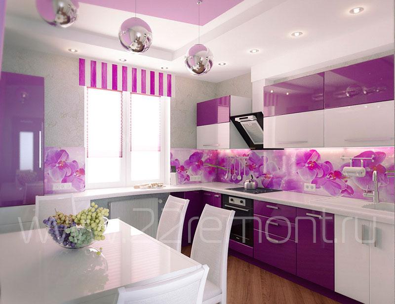 Дизайн интерьера кухни в барнауле
